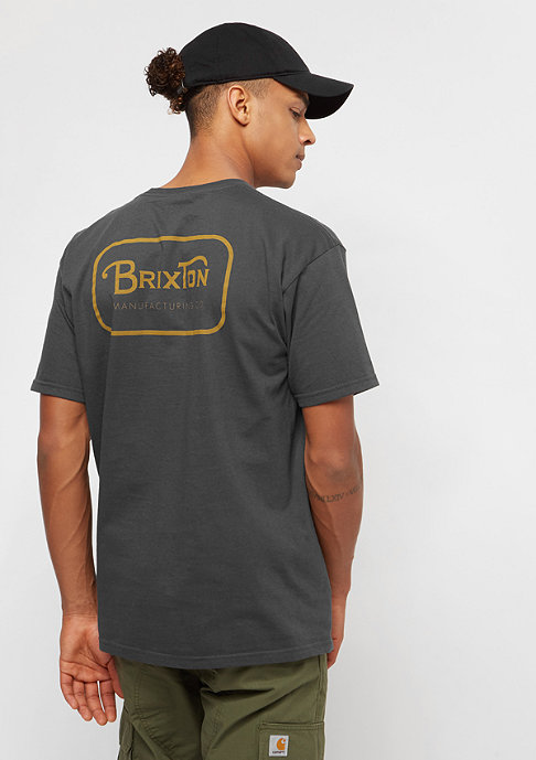 Brixton Grade washed black/gold