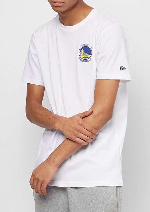 New Era Tip Off Chest 'n' Back Golden State Warriors optic white