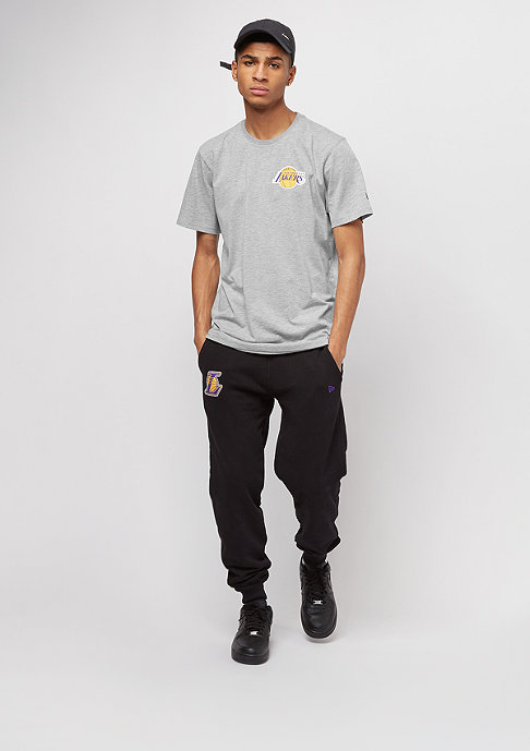 New Era Tip Off Chest 'n' Back Los Angeles Lakers light grey heather