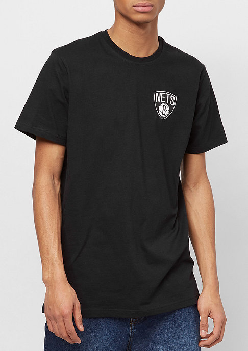 New Era Tip Off Chest 'n' Back Brooklyn Nets black