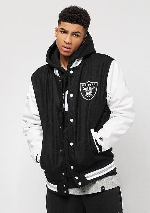 New Era Team Apparel Oakland Raiders black