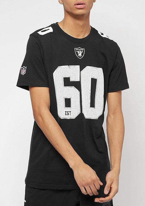 New Era NFL Number Oakland Raiders black/optic white
