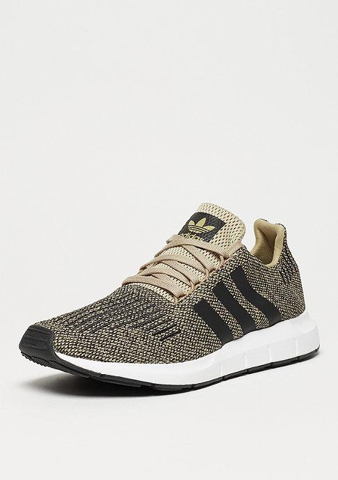 adidas Swift Run raw gold/core black/ftwr white