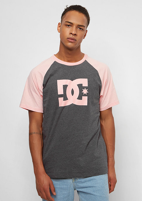DC Star Raglan charcoal heather/en