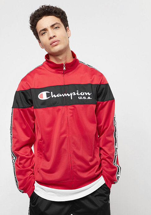 Champion Tracksuit rot