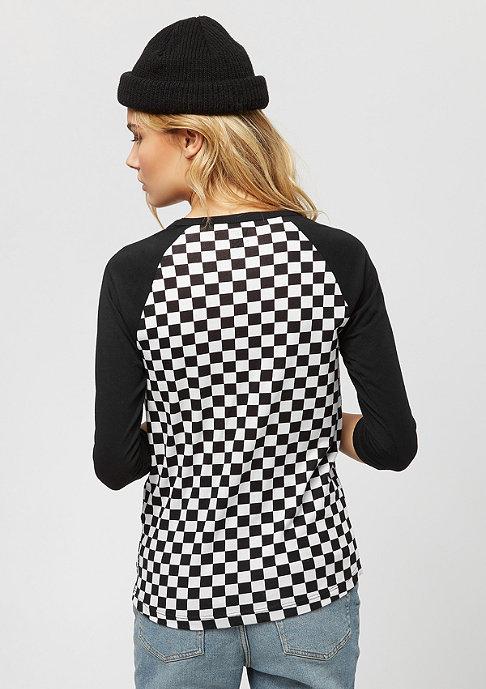 VANS Checks Raglan checkerboard/black