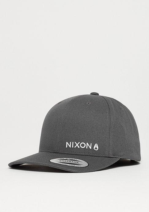 Nixon Lockup charcoal/white