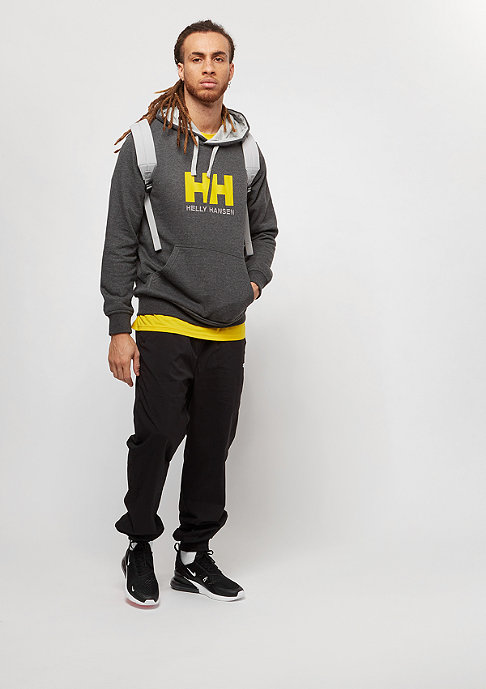 Helly Hansen Logo ebony melange