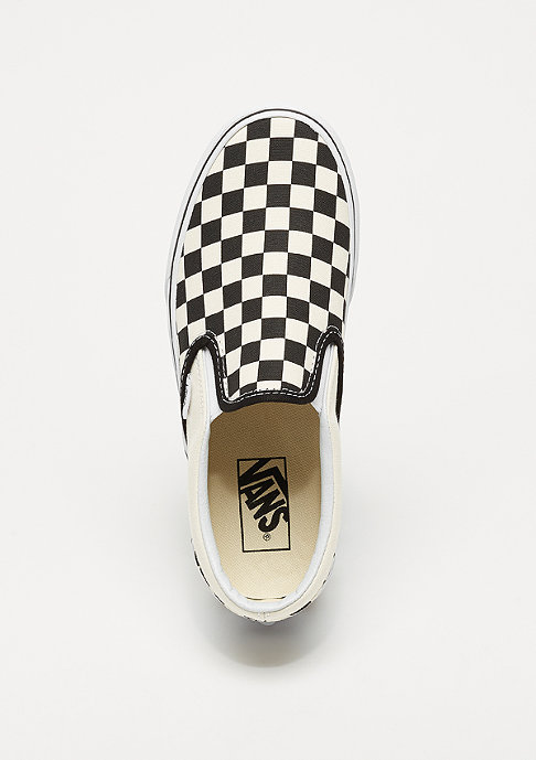 VANS UA Classic Slip-On Platform (Checkerboard) black and white checker/white