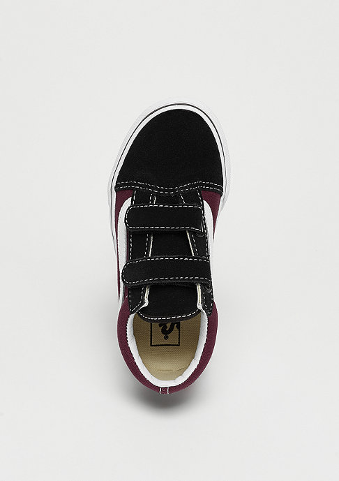 VANS UY Old SkoolV (POP) Black/burgundy