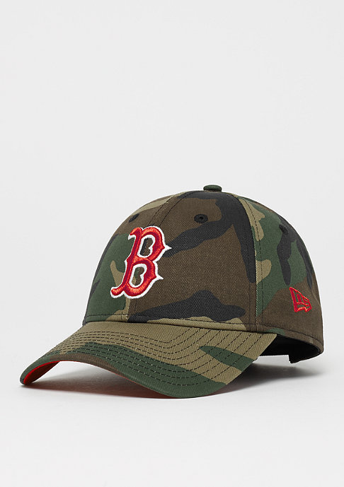 New Era 9Forty MLB Boston Red Sox Camo Team woodland camo/scarlet