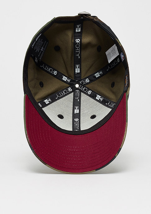 New Era 9Forty NBA Cleveland Cavaliers Camo Team multi/cardinal