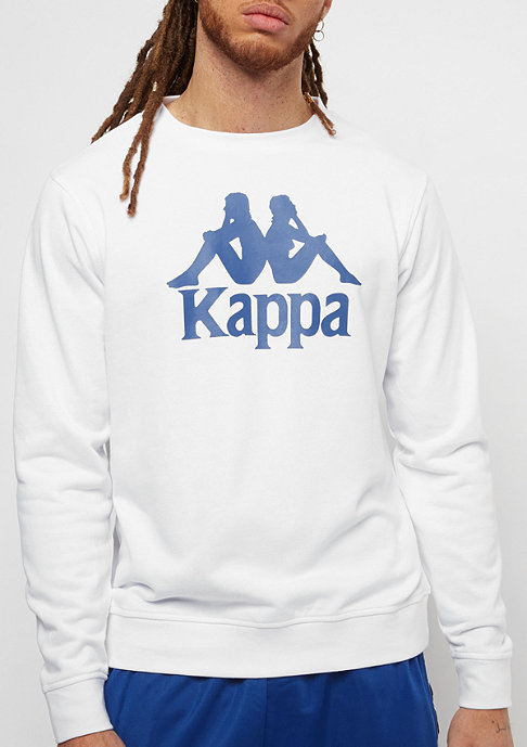 Kappa Authentic Zemin white/blue