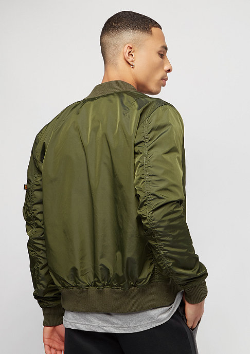 Alpha Industries MA-1 TT dark green