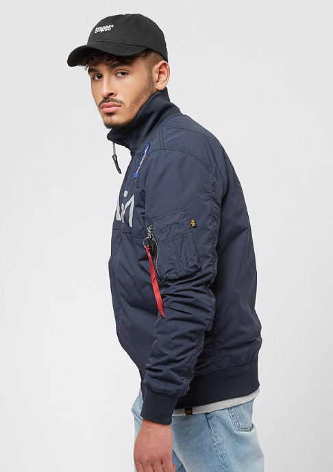 Alpha Industries Nasa rep. blue
