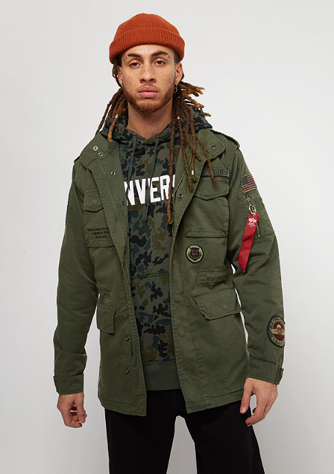 Alpha Industries Huntington Patch dark olive