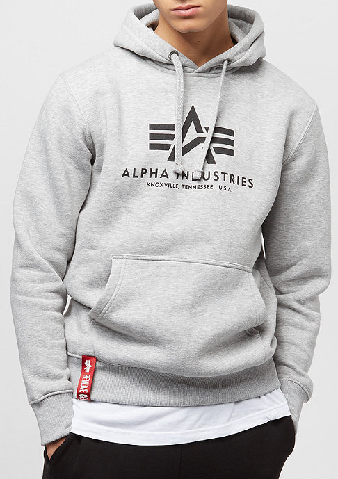 Alpha Industries Basic grey heather