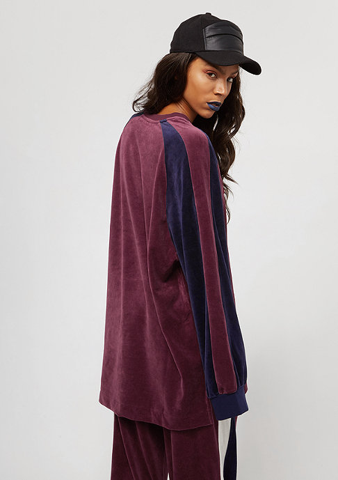 Puma Fenty Velour Oversized tawny port/evening blue