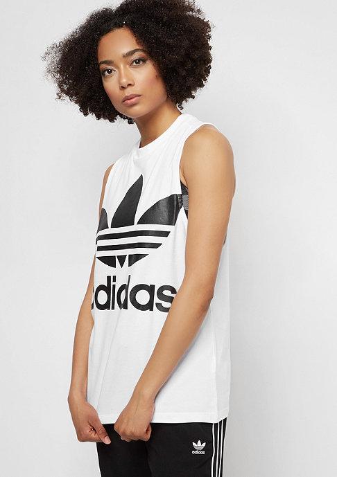 adidas Trefoil white/black