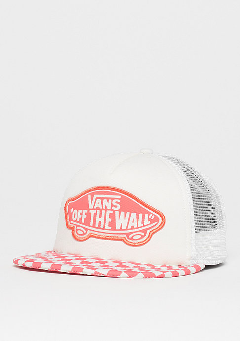 VANS Beach Trucker spiced coral checkerboard