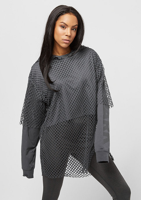 IVY PARK Mesh Overlay Logo light grey