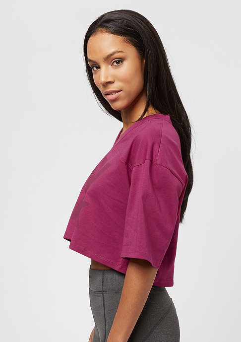 IVY PARK Programme Oversized Crop purple
