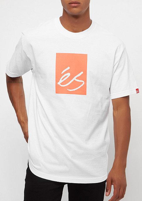 eS Main Block white