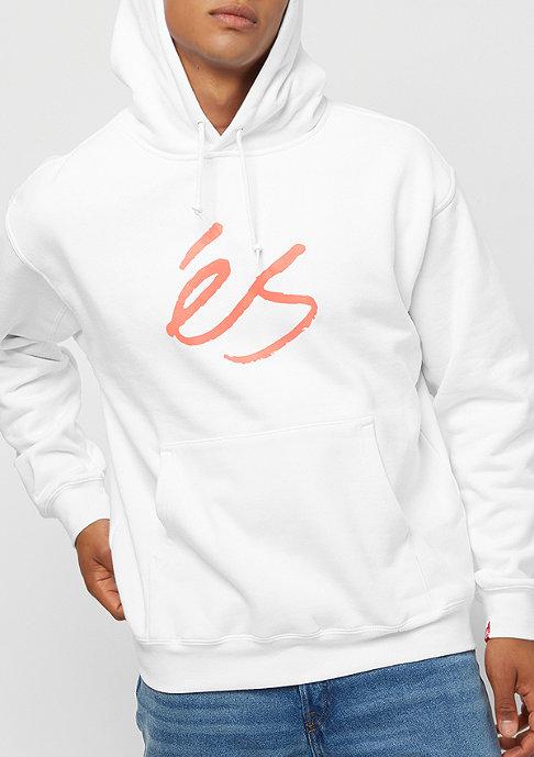 eS Script white