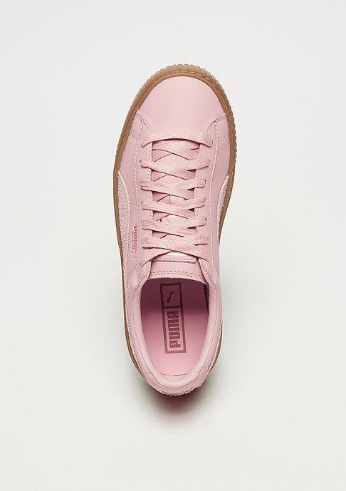Puma Basket Platform Euphoria Gum silver pink