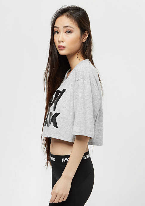 IVY PARK Program Crop grey melange