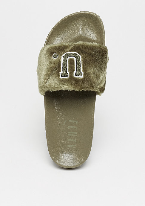 Puma Leadcat Fenty Fur burnt olive-puma black
