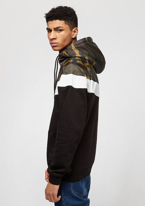 SNIPES Block Windrunner camo/black/white