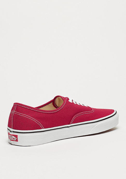 VANS UA Authentic crimson/true white