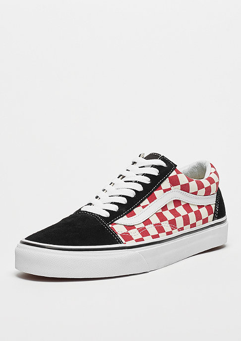 VANS UA Old Skool (Checkerboard) black/red