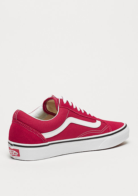 VANS UA Old Skool crimson/true white