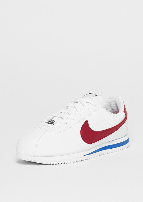 NIKE Cortez Basic SL (GS) white/varsity red-varsity royal-black
