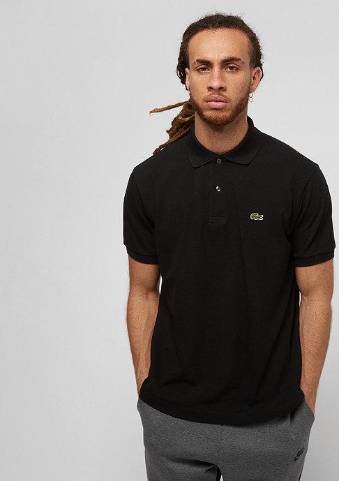 Lacoste Short Sleeved Ribbed Collar Shirt black