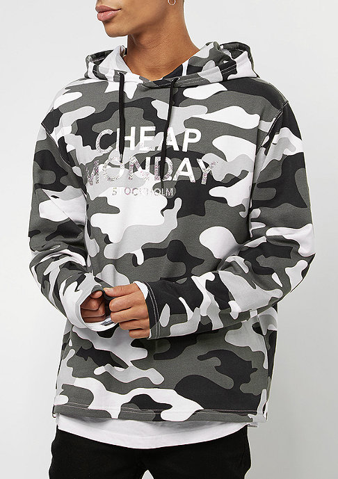 Cheap Monday 2 Hood After camo black