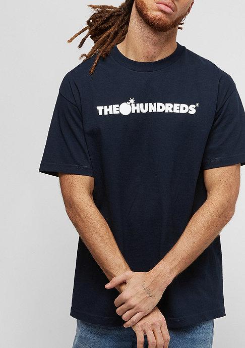 The Hundreds Forever Bar Logo navy