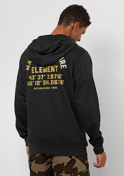Element Hub flint black