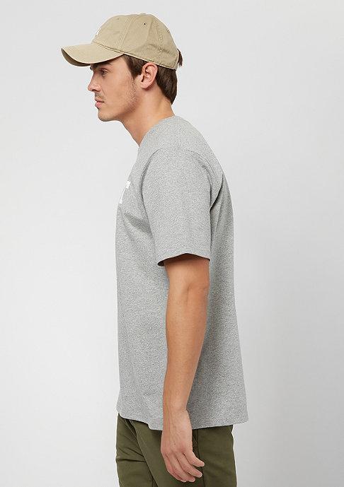 Carhartt WIP College grey heather/white