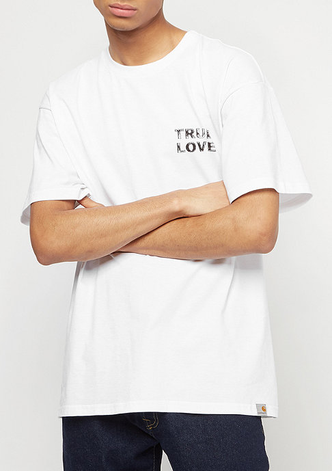 Carhartt WIP True Love white/black