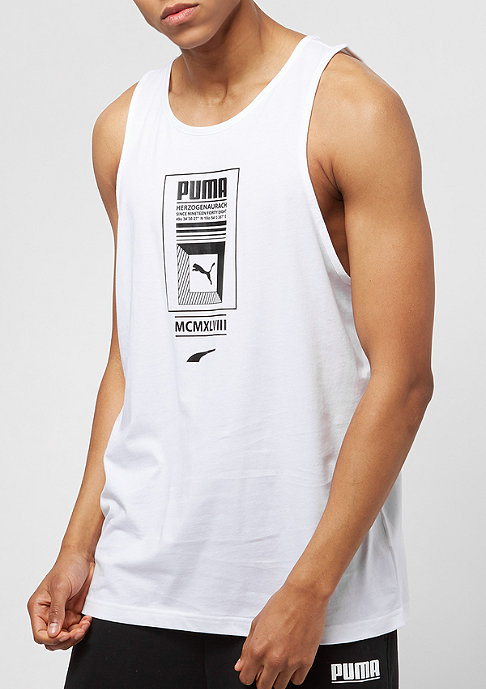 Puma Logo Tower white