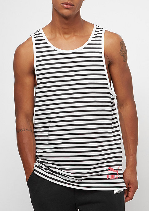 Puma Summer Breton Stripe white