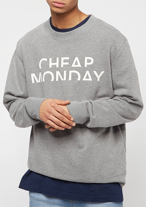 Cheap Monday Worth Spliced Cheap grey melange