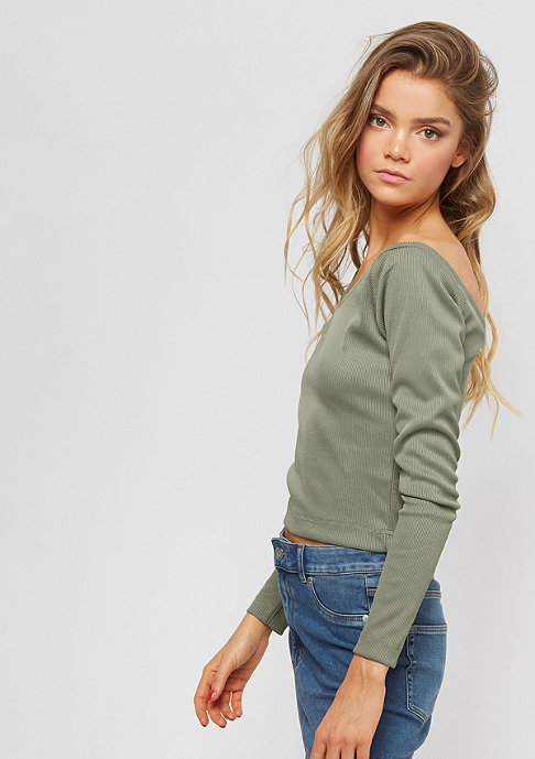 Cheap Monday Vee Top bleached olive