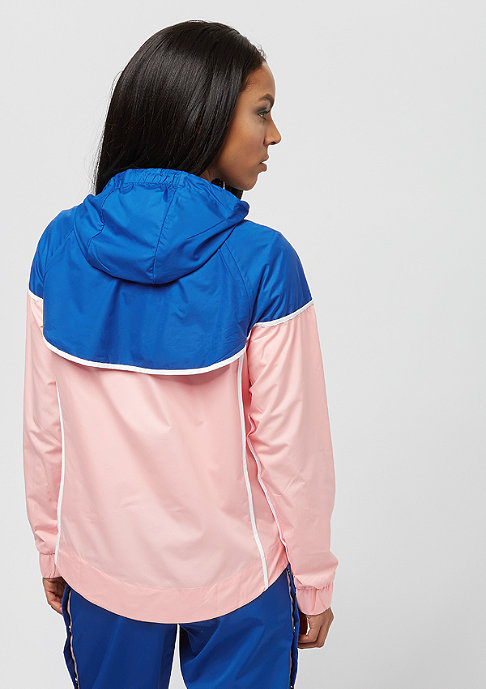 NIKE WR JKT bleached coral/game royal/white
