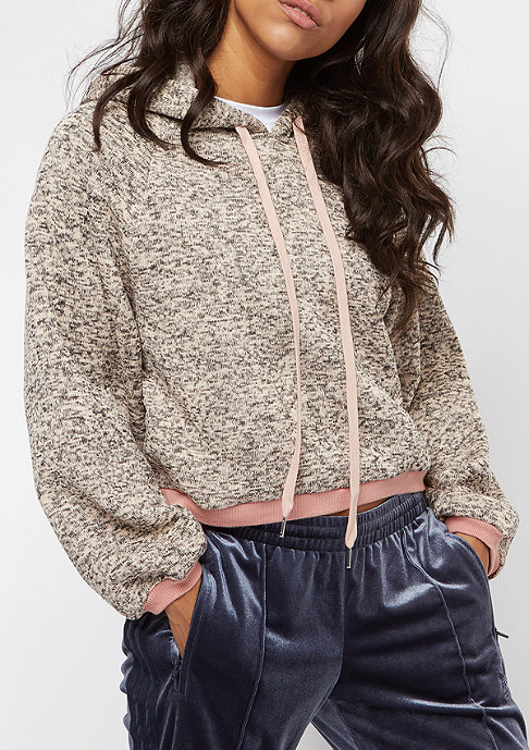 Sixth June Classic Oversize Cropped dark stone pink