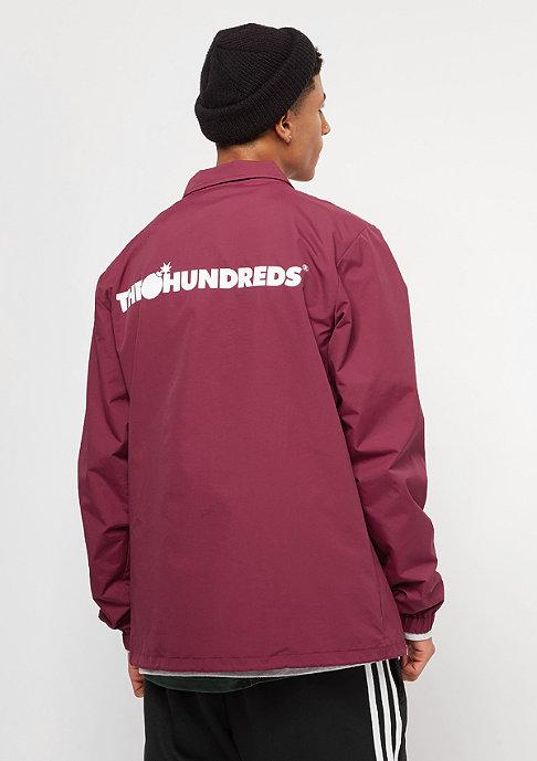The Hundreds Bar Logo burgundy