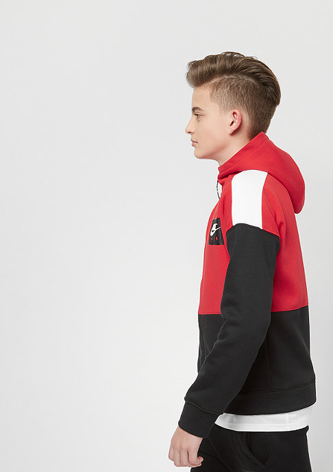 NIKE Junior Air university red/black/white